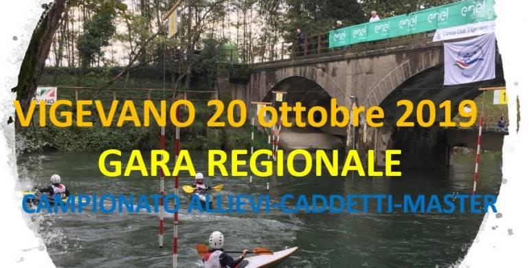 Gara regionale a Vigevano
