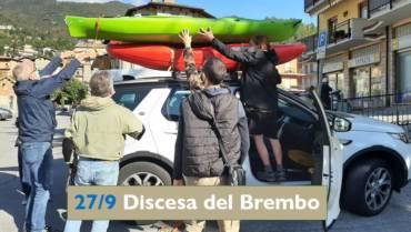 27 settembre: Discesa del Brembo