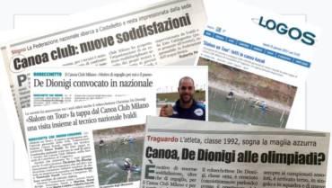 La stampa locale parla dei nostri atleti